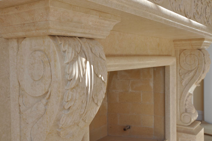 fireplace mantel corbels. Marble Corbel and Mantel  Fireplaces Cream Hand Carved