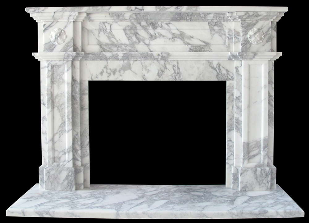 Sale marble fireplace mantels limestone surrounds for Marble for fireplace surround