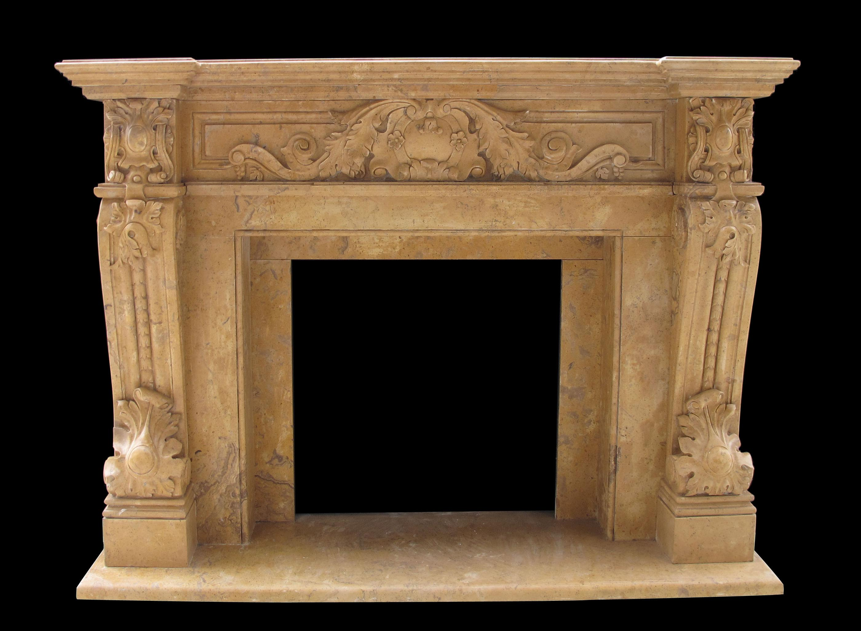 Verona marble mantels sale french fireplaces for Marble mantels for sale