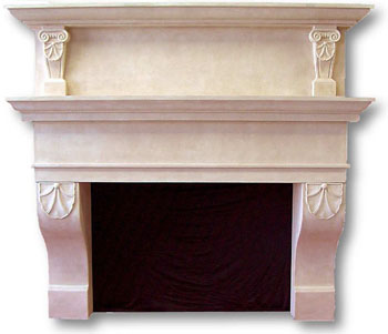 fireplace mantles can sport - photo #39