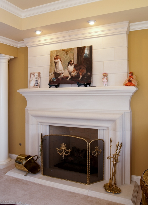 cast fireplace s houston stone mantels